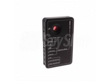 Detektor für Kameras und Abhörgeräte RD-30 im Frequenzbereich 20 MHz bis 6 GHz