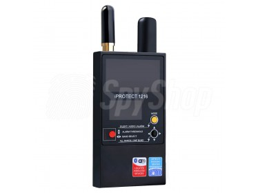 Dreiband-RF-Detektor iProtect 1216 mit Entfernungsregelung