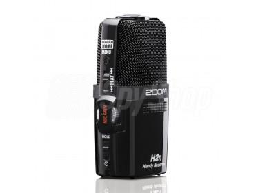 Professioneller Audiorekorder Zoom H2n Tonaufnahmegerät für vielfältigen Einsatz (Konzerte, Podcasts, Interviews)