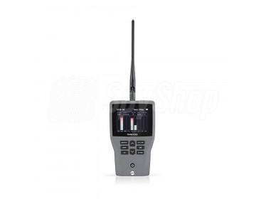Funkaufspürgerät zur Detektion von Bluetooth, 5G, WiFi Detektor gegen Spionagekameras Handys und Abhörwanzen JJN CAM-GX5