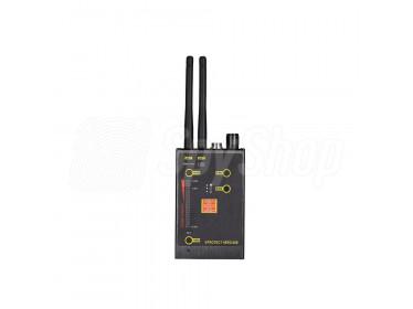 Funkaufspürgerät VPROTECH Detektor gegen Abhörwanzen und Kameras GSM, 3G/4G, Bluetooth WiFi ideal für Detektivbereich