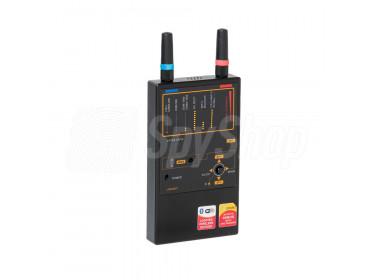 Profi Funkdetektor Protect 1207i - Leistungsfähiger Wanzendetektor für GSM, 3G, LTE, DECT, Bluetooth, WLAN und WiMax
