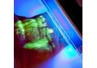 UV-Lampe, Schwarzlichtlampe, Fleckenfinder oder Geldscheinprüfer