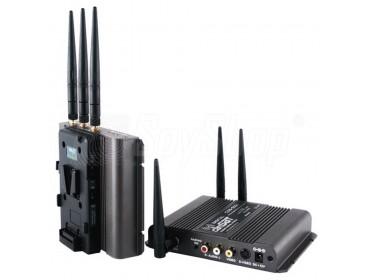 CAMSAT CDS-5021TV zur sicheren Verschlüsselung von Audio-/Video- Übertragung.