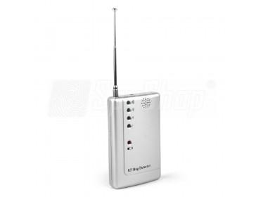 Kamera und Wanzen Aufspürgerät RF BUG DETECTOR mit Signalstärkeanzeige