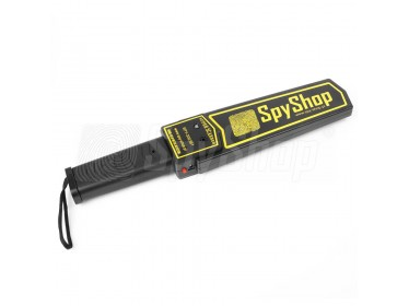 Metalldetektor SpyShop Super Scanner mit Gürtelhalterung!