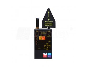Detektor für Abhörgeräte, GSM, DECT sowie Bluetooth und WLAN - Protect 1206i