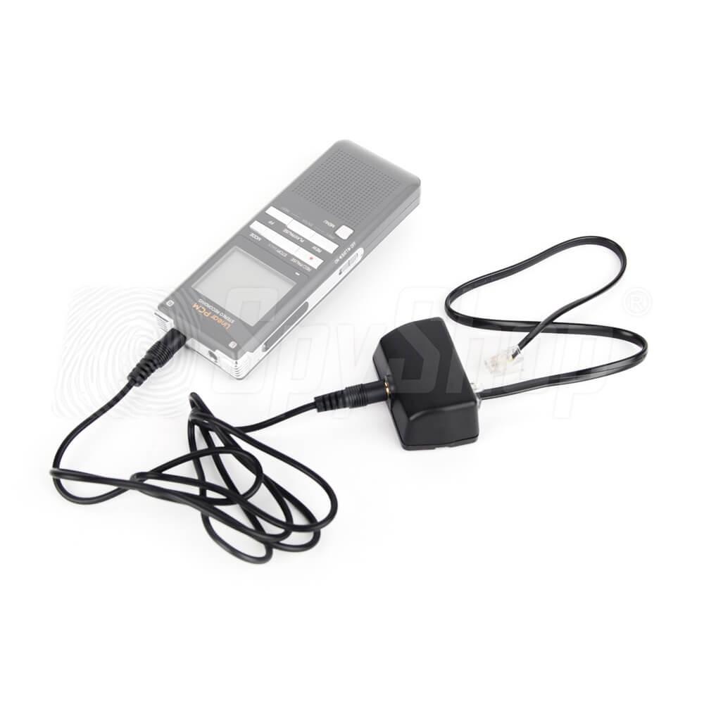 Adapter Telefonleitung Diktiergerät ...