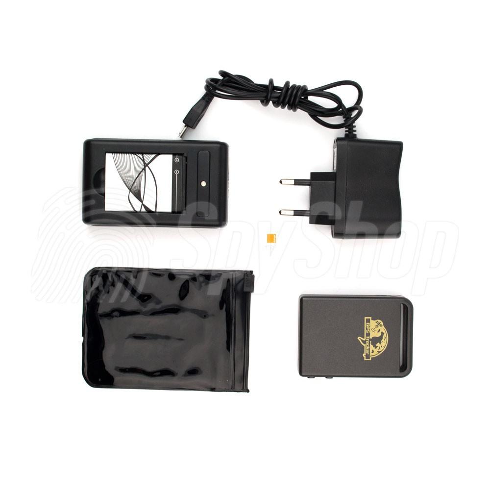 kleines gps tracker gps tk102 ortungsger t. Black Bedroom Furniture Sets. Home Design Ideas