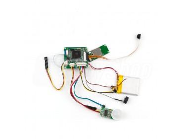 Kamera zur Selbstmontage mit PIR-Bewegungssensor: HD-08