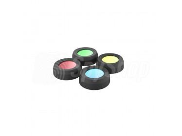 Farbfilter-Set (36 mm) für die Taschenlampen von Ledlenser