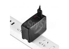 Diskrete, in einem USB-Netzladegerät versteckte Kamera AC-T35